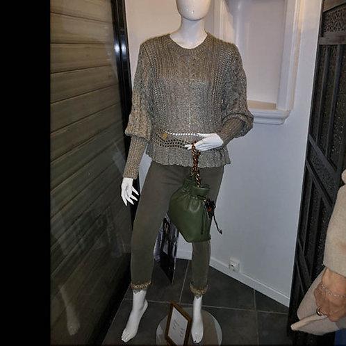 Pantalon Elasthane & Coton