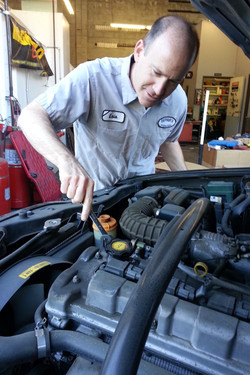 ASE cerified master technician