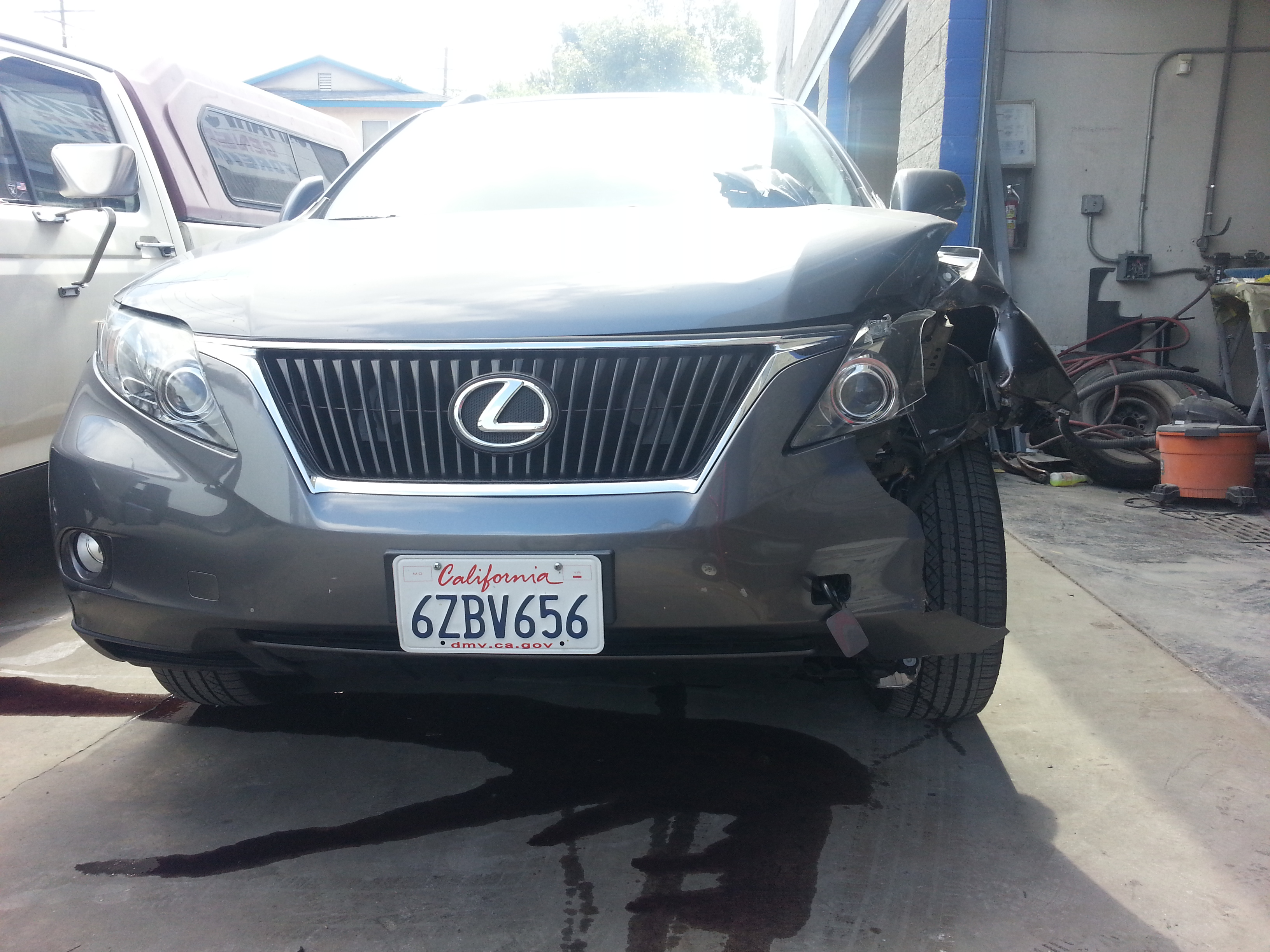 Lexus Auto body repair