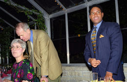 Cynthia, Paul, and Ivor, Urbana, 1998.