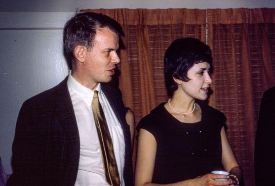 Paul and Cynthia. Houston, TX, 1966