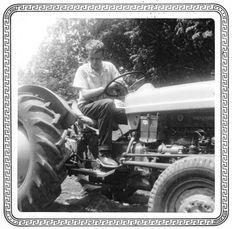 """Paul, those aren't farmin' shoes.""  Bullard, TX, 1958."