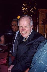 Paul with friend Lloyd Hodges. Champaign, 2003.