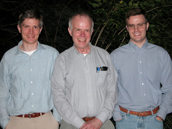 Gerrit, Paul, and Gerard. Champaign, 2003.