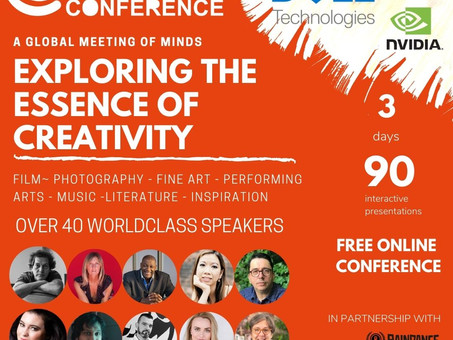 WE ARE THRILLED to announce the release of our FREE CREATIVITY CONFERENCE from the 22-24 Jan