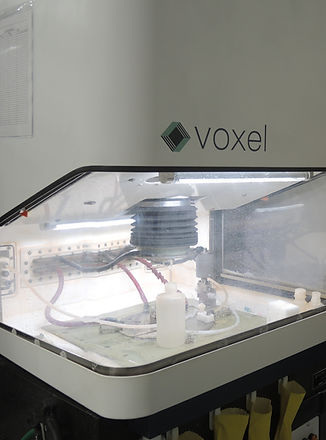electrochemical machining setup