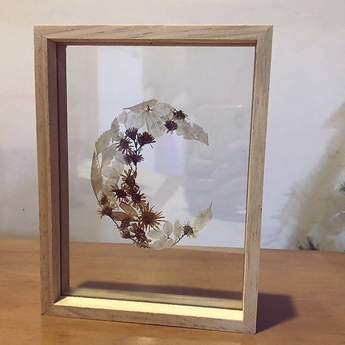 Floral Moon Frame