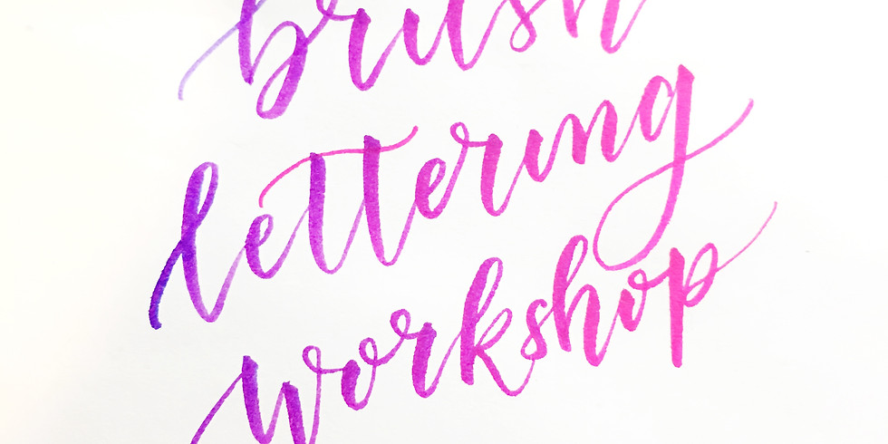 Brush Lettering and Embossing