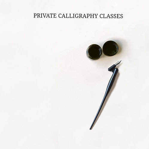Private Calligraphy Classes
