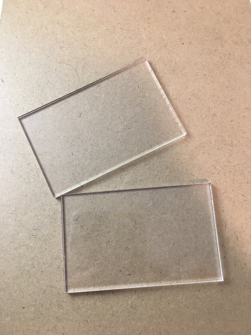 Sample of Acrylic Place Cards