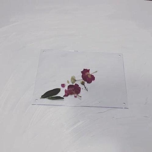 Custom 13x18cm Pressed Flower Frame