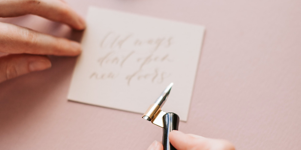 Modern Calligraphy 101 (Stitches and Craft)