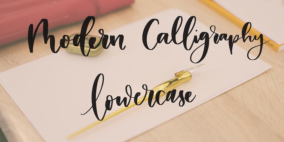 Modern Calligraphy - lowercase