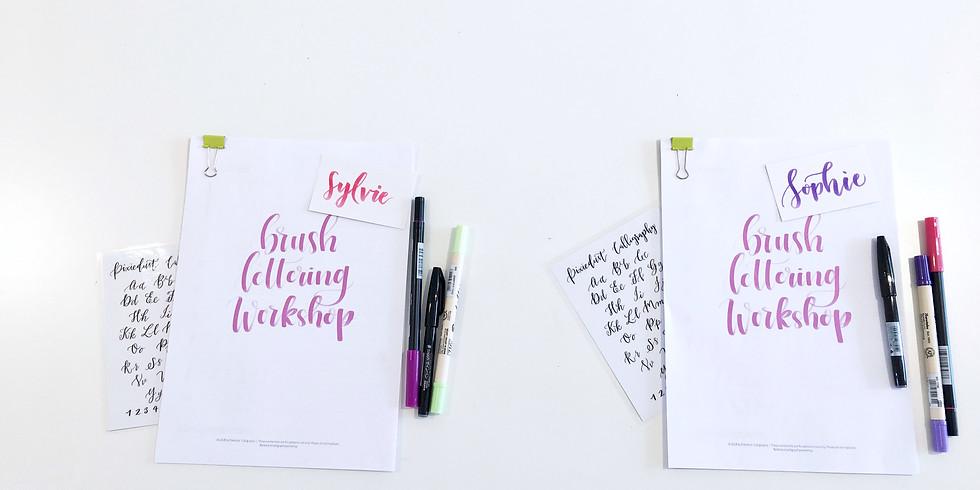 Private Brush Lettering Workshop