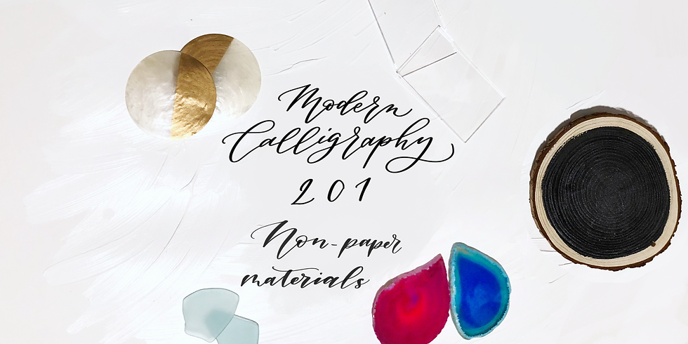 Modern Calligraphy 201