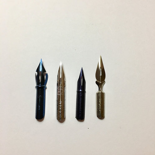 Pointed Pen Sampler