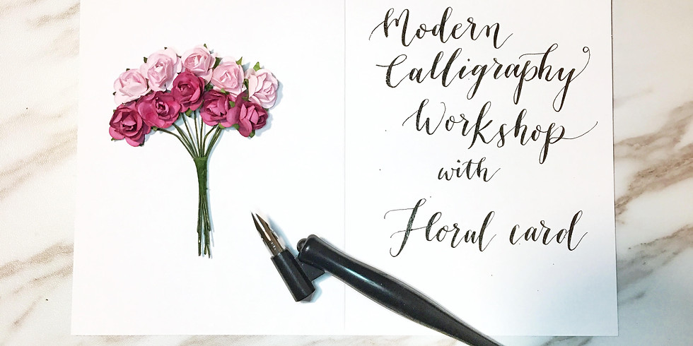Intro to Modern Calligraphy – VALENTINES EDITION
