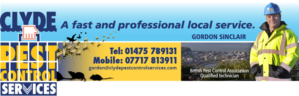 Gordon Sinclair and Clyde Pest Control Services information