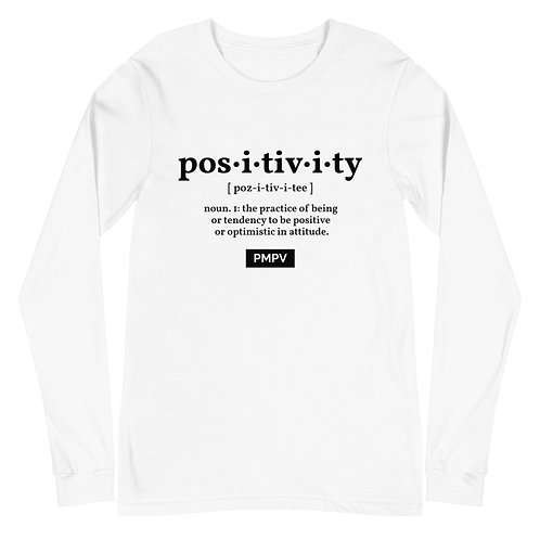 Positivity Definition Long Sleeve Tee