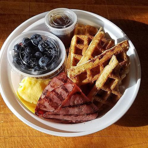 BKFST Protein Waffle