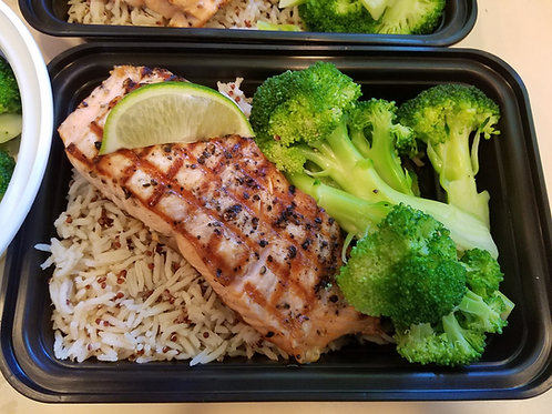 Simple Grilled Salmon (4 oz.)
