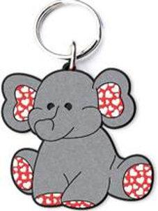 Oli the Elephant Key Ring/Bag Tag