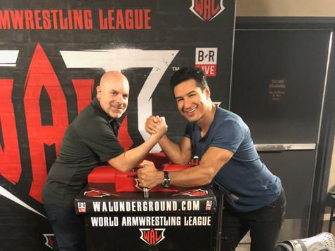 Mario Lopez at WAL 405