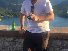 Cab Franc at Castle Bled