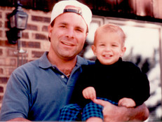 Steve at 33 with Son Ryan