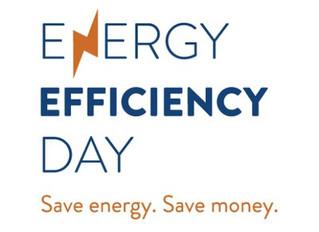 We're celebrating Energy Efficiency Day!