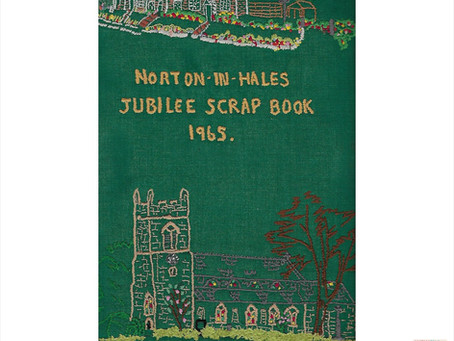 Norton In Hales WI Jubilee Scrap Book 1965