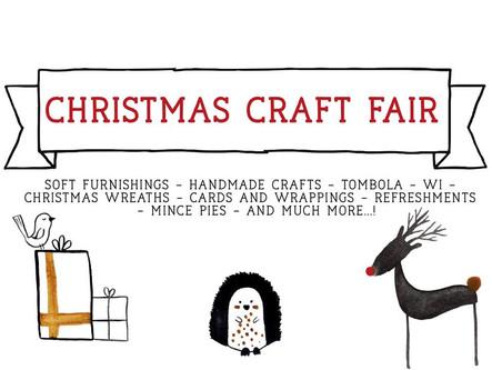 Christmas Craft Fair - November 18th at Jubilee Hall