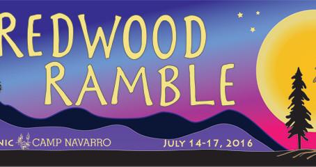 Redwood Ramble: Here we come!