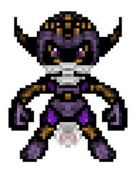 Pixel Art Mystical Purplering