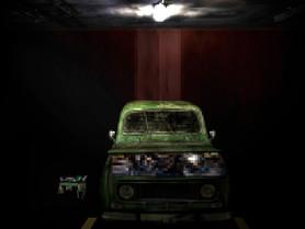 Pixel Art Cenário Garagem