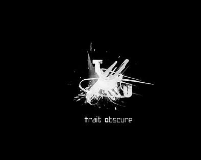 Logo Trait Obscure