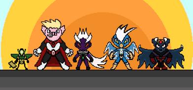 Pixel Art- Heroes of the Fragment