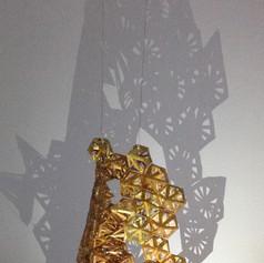 Cosmic Fishnet 3-D Suspended Sculpture