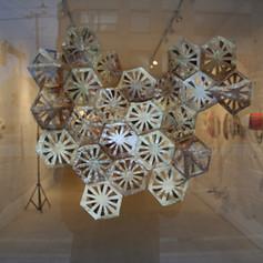 'Cosmic Fishnet 1' 3-D Sculpture