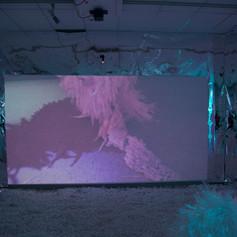 Eerie Shadow Still from Plastopia video called 'Rêver en Plastique'