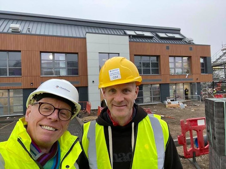 Visiting the new Campbell Clinic & Academy