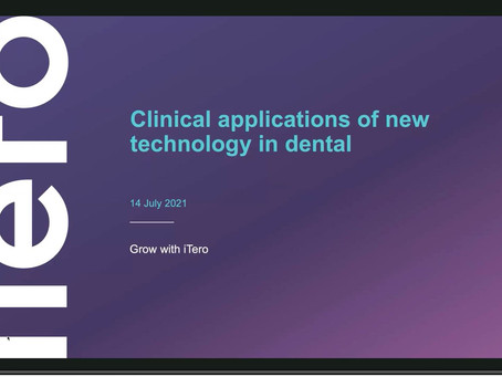 Clinical applications of new technology in dental - an Itero webinar