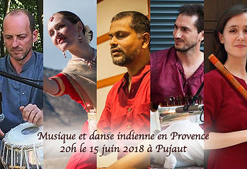 Spectacle musique indienne hindoustani danse indienne