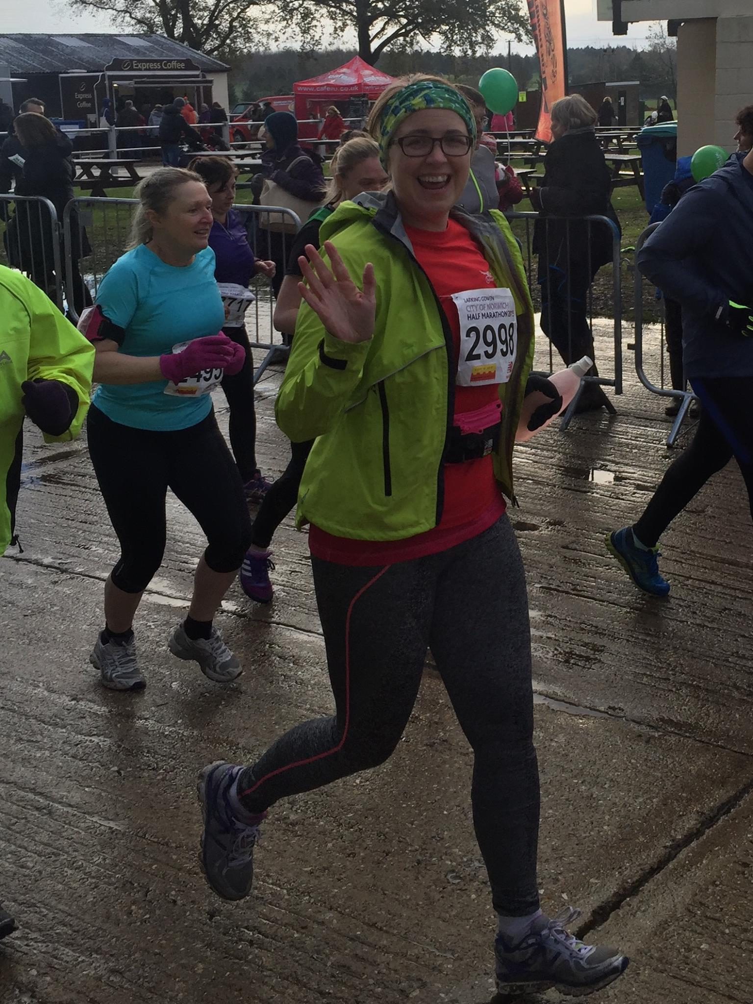 Lisa's 1st Half Marathon