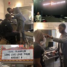 Barber for Gospel Musician Kirk Franklin's Long Live Love Tour