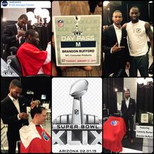Official Barber of NFL Super Bowl 49