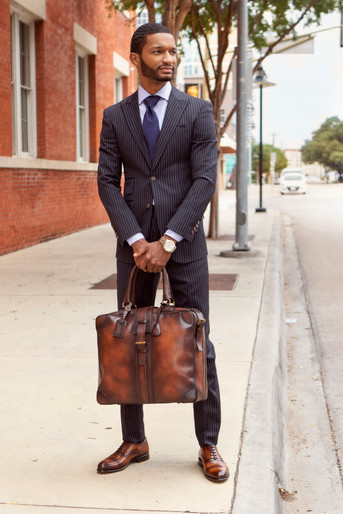 Brandon Bufford withTravel Tote