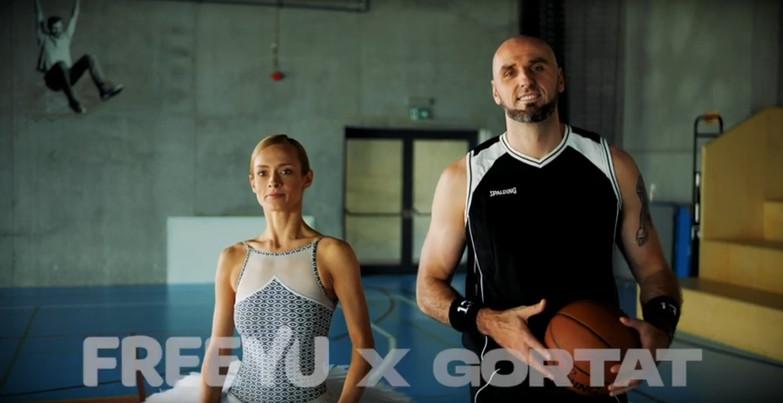 FreeYu - Marcin Gortat - Pokora -montaż Maciej Konrad
