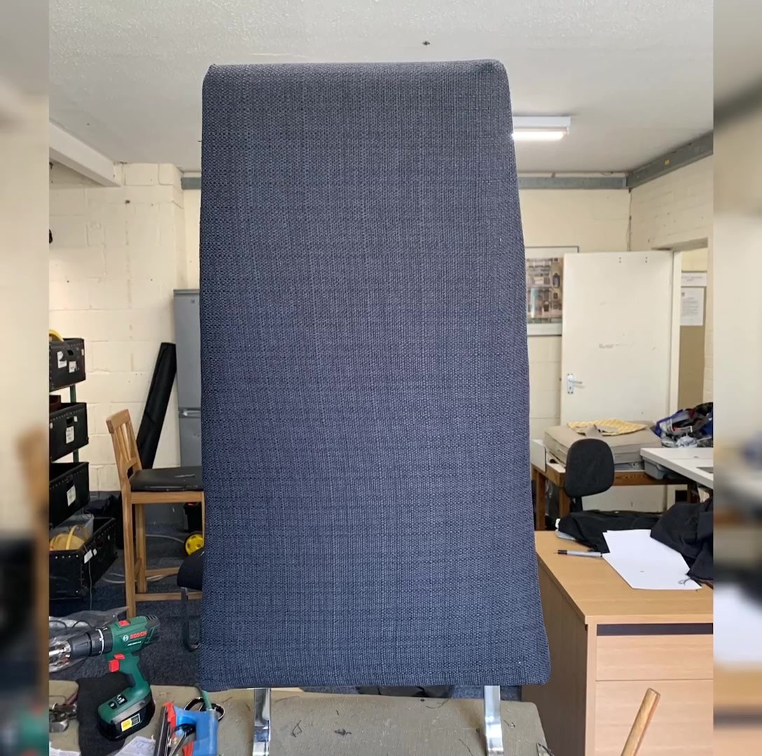 A little look behind the scenes of a dining chair being reupholstered in time lapse, please share , and/or message for free quotation thanks in advance #upholstery