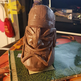 _._ I sculpted this guy last year and ha